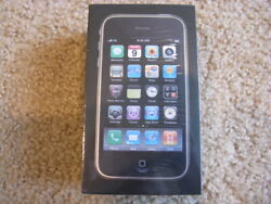 Apple Iphone 3gs - 32gb - Black Att Mc137ll/a Unopened Collectable