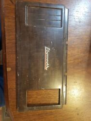 Plymouth Bezel Face Plate Dash Cover