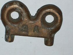 Vintage Boat Deck Fill Cap Key Tool For Water Fuelgas Waste Caps