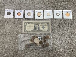 Random Assortment Of Old Collectible Coins