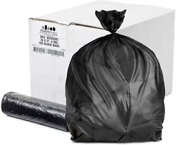 Plasticplace 20 30 Gallon High Density Black Bags 500 Count $31.59