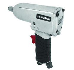 Husky H4430 Impact Wrench Air Tool Single Hammer 1/2 Drive 300 Ftlb Torque