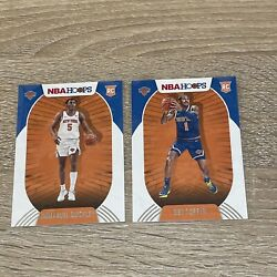 2020-2021 Nba Hoops Immanuel Quicky 249 Obi Toppin 226 Rookie Card