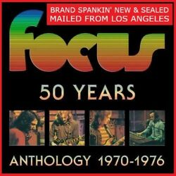 Focus - 50 Years - Anthology 1970-1976 9 Cd's + 2 Dvd's Mailedfrom Los Angeles