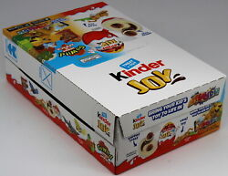 Kinder Joy Go Wild Animals Surprise Eggs And Toy Chocolate Candy 15 Count Box