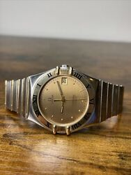 Omega Constellation Automatic 18k/ss Men's Cal. 1109 Watch - Working