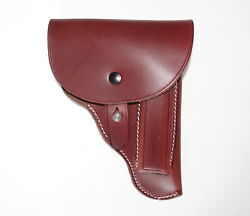 German Army Wwii Ww2 Repro Cz27 P.mod.27 Holster 1941 Brown Czech Made Riveted