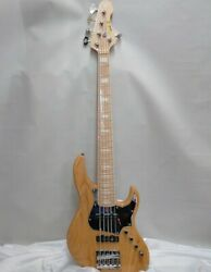 Used Atelier Z Bk-5 Natural Electric Bass Free Shipping