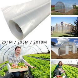 Thickness Greenhouse Clear Plastic Film Polyethylene Covering Sheet 2m