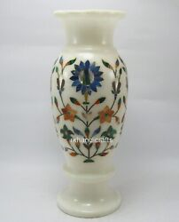 08 Inches Handmade Decor Pot With Hand Inlaid Christmas Gift Vase For Office