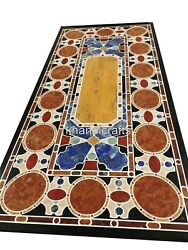 36 X 72 Inches Marble Dinning Table Top Stone Living Room Table Luxurious Art