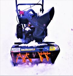 22 Snow Blower --5.5 Horse Power Tecumseh Engine--2 Stage--parts Only