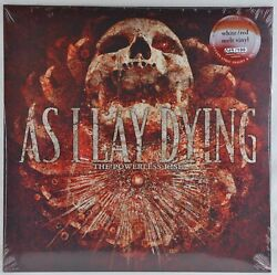 As I Lay Dying The Powerless Rise Lp - White Red Melt Vinyl - Limited 100 Copies