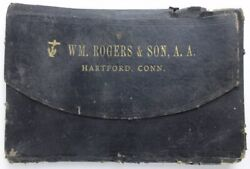 Revised Price List. Wm. Rogers And Son A. A. Celebrated Electro Silver-plated