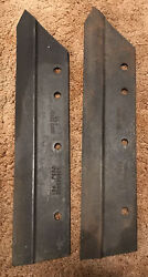 Case Tractor Cultivator Plow Implement Parts Plow Blades Cultivator Usa Nos