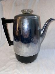 Vintage Ge General Electric Replacement Percolator 36p12 Coffee Pot Urn Only