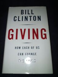 Bill Clinton President Signed Book Giving 1st Ed Mint Wow Proof New 2007