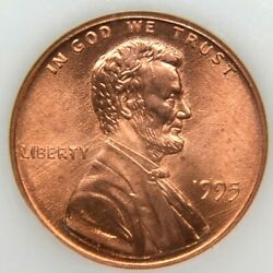 1995 Lincoln Cent Double Die Obverse Gem Bu 1995 Ddo Beautiful Coin 3