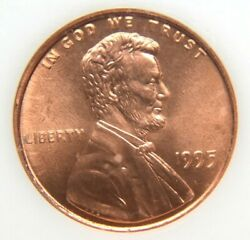 1995 Lincoln Cent Double Die Obverse Gem Bu 1995 Ddo Beautiful Coin 4