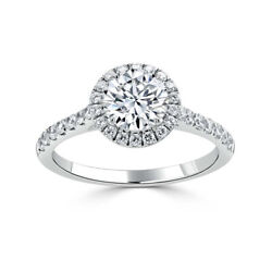 Real 0.98 Ct Diamond Wedding Ring For Women Solid 950 Platinum Rings Size 11 12