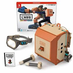 Nintendo Labo Toy-con 2 Robot Kit Switch, 2018  Make - Play - Discover