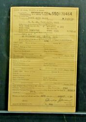 Rare 1906 Ford Model K 6 Cyl Roadster Ohio Car Auto Historical Document  Wow