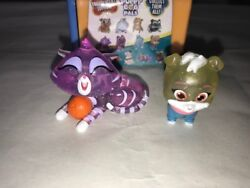 Brand New Disney Puppy Dog Pals Travel Pets -translucent Edition - Hissy And Keia