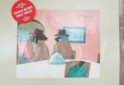 Mutant Ninja Turtle Rare One Of Akind Authentic Production Cel From 1980andnbsp