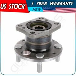 New Rear Left Or Right Wheel Hub Bearing Assembly W/abs Fits 11-14 Mazda 2