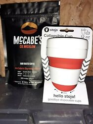 Mccabeand039s Organic Coffee And Stojo Collapsible Cup Gift Packs - Free Pandp Eu And Uk