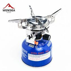 Camping Gas Stove Cooking Fire Starter Propane Butane Outdoor Cylinder Tourist