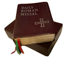 Daily Roman Missal 1998 4th Edition Our Sunday Visitor Mtf Bonded Leather Sociad
