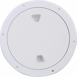 Amarine Made 9.84 Boat Round Non Slip Inspection Hatch Deck Plate Access Cover