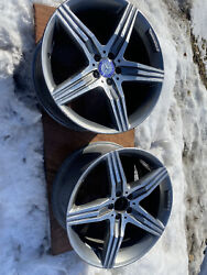 Set Of 4 Mercedes S63 2014-2019 20 Factory Oem Staggered Wheels Rims