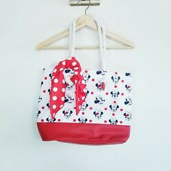 Disney Minnie Mouse Beach Tote Girls Child New $16.90