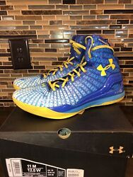 Under Armour clutchfit drive royal blue high mid basketball shoes men#x27;s Size 11 $88.00