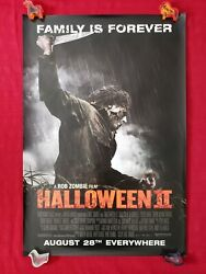 Halloween Ii 2 2009 Original Movie Poster Advance Ds Rob Zombie Myers Mask Nm-m