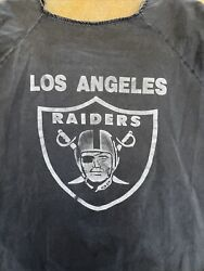 Vintage Xl Menandrsquos Los Angeles Raiders Collectible Nfl Button Up Baseball Shirt