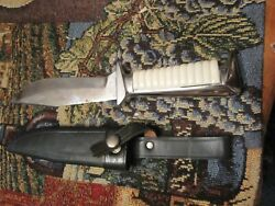 Ern Wald Solingen Germany Bowie Style Knife Never Sharpened