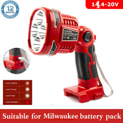 Portable For Milwaukee M18s 18v Led Search Work Light Flashlight-body Only