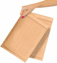400 Kraft Padded Envelopes 7.25 X 11 Bubble Mailers Natural Brown