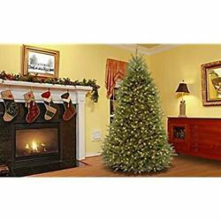 National Tree Company 9 Ft Dunhill Fir Pre-lit Artificial Christmas Tree W/stand