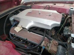 1958 Mercury Super Marauder Polished Air Cleaner Assembly W/ Valve Covers