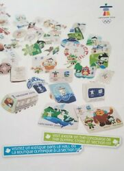 Pin Trading Poster Large 17x24 Event Used Vancouver 2010 Olympics Non-retail