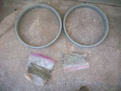 Harley Davidson Clincher Rims And Spokes J Jd Jdh Racer Single Twin Antique