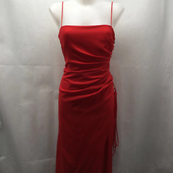 Vera Wang Red Evening Gown 10 $47.99