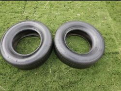 Vintage Mickey Thompson Special J70-15 Indy Profile Mac Tac Tires Set Of 2
