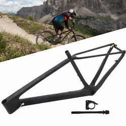 Bicycle Durable Carbon Fiber Bike Front Fork Stand Seatpost Clip Tube Shaft New