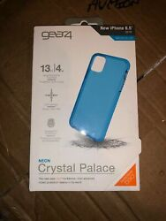 """Gear4 Neon Crystal Palace Series Case For Apple Iphone 11 Pro Max 6.5"""" - Blue"""