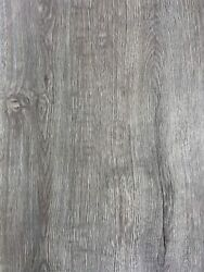 Gray Wood Grain Self Adhesive Contact Paper Peel Stick Wall Faux Vinyl Roll New